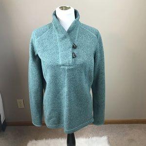 The North Face Aqua Green Pullover